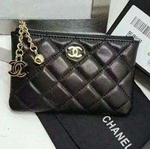 Chanel VIP keychain coin pouch